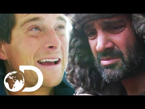 Bear Grylls VS Ed Stafford | Surviving The Cold