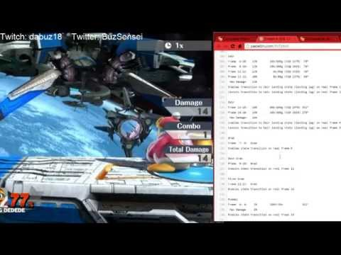 Advanced smash play #2 - Frame data