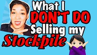 ♀️DO NOT Start selling your S…