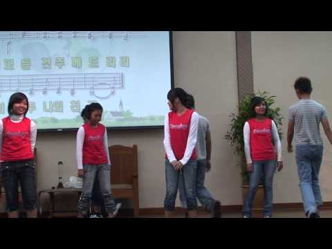 Agape myanma refugee school guys invited by KL Korean Union Church and play.