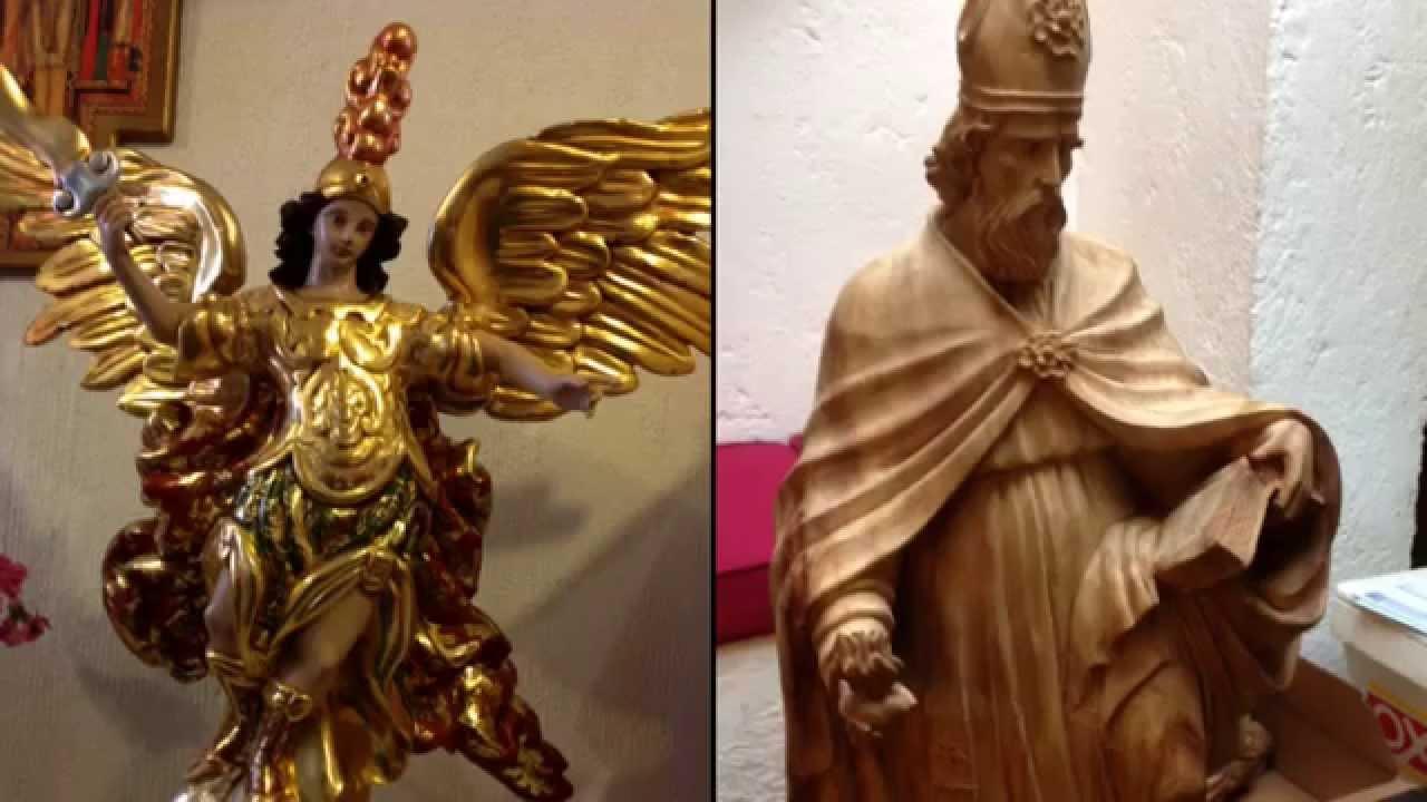 9f7df64e975 Restauración y fabricación de imágenes religiosas. LUX DEI - YouTube