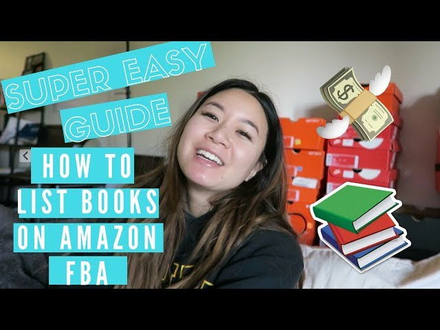 Easy Step By Step Guide | How to List Books on Amazon FBA  | 2018