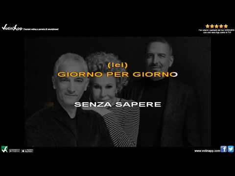 Ornella Vanoni, Bungaro, Pacifico - Imparare ad amarsi (Karaoke HQ con cori)