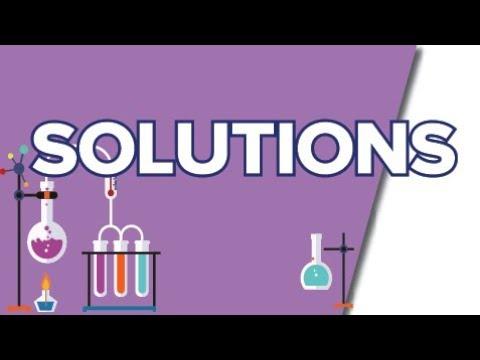 Download Soluté Solvant Solution, Concentration Massique  - Seconde - Chimie