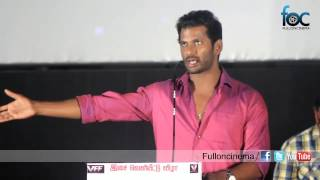 Vishal Advises Hip Hop Tamizha adhi to Act After Two Years @ Aambala Movie Audio Launch