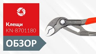 Обзор клещей сантехнических KNIPEX KN-8701180