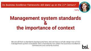 BSI Business Excellence – Webinar