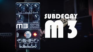 Demos in the Dark - Subdecay: M3 Monophonic 3 Oscillator Synth