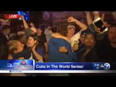 (WLS) Cubs Going To World Series Breaking News (October 22, 2016)