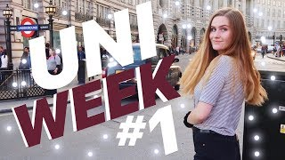 MY FIRST WEEK OF UNIVERSITY IN LONDON *Study Abroad*