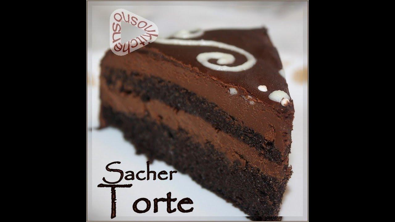 recette de gateau au chocolat sacher torte torte sacher. Black Bedroom Furniture Sets. Home Design Ideas