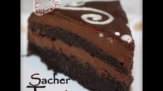 Recette De Gateau Au Chocolat-sacher Torte/ Torte Sacher-sousoukitchen