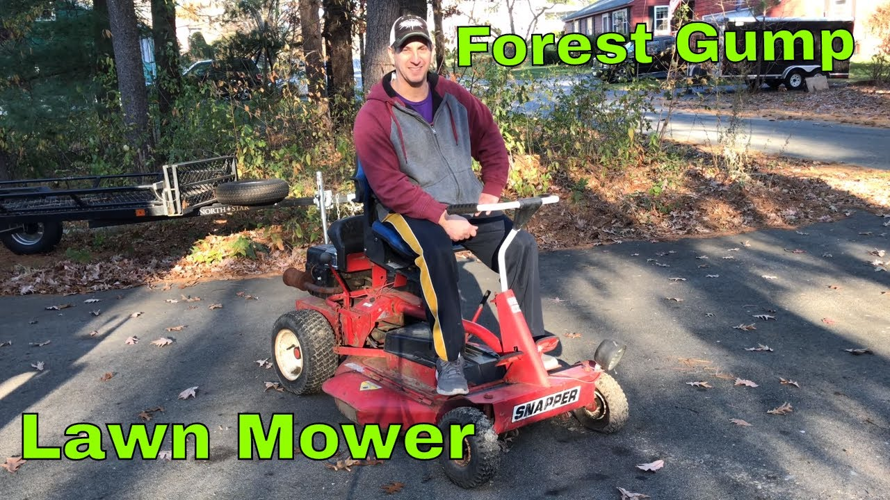Forest Gump Lawn Mower Repair Project Youtube