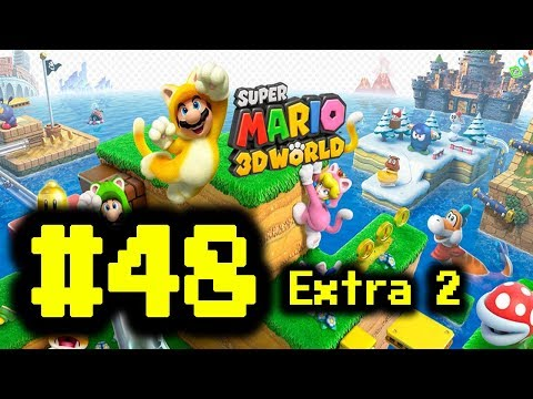 Super Mario 3D World 100% #48 Extra 2 - Nunca Desistir!