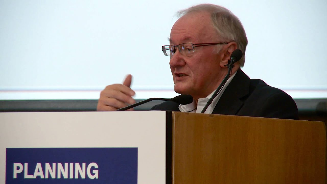 Professor Michael Batty from University College London, UK at the UCD AESOP Conference 2013.