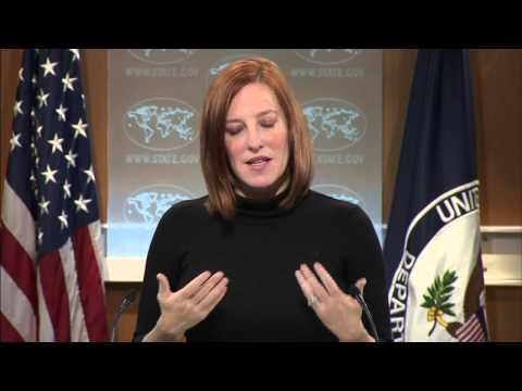 Daily Press Briefing -  March 18, 2015