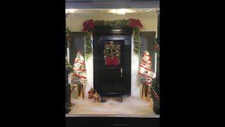 Dollhouse Miniature Christmas Trees That Light Up
