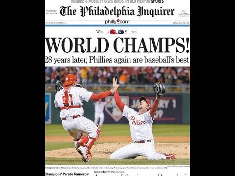 Phillies 2008 World Champions McFadden's Philly fans fight go crazy Broad St CBP nikkinizz