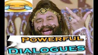 Sant gurmeet ram rahim singh insan movie Dialog MSG Top 10