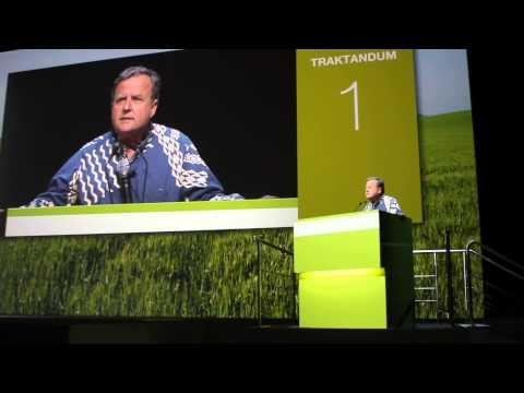 Gary Hooser Defends Kaua'i and Speaks at Syngenta Shareholder Meeting 2015 in Basel Switzerland