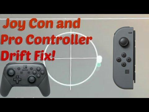 Nintendo Switch Pro Controller Joy Con Drifting Fix!