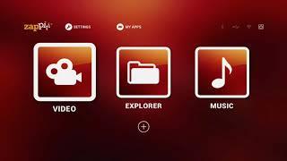 Zappiti Experience M01 Initial Setup
