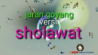 Gambar cover Jaran goyang versi sholawat  karaoke