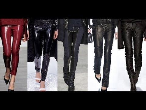 Leather pants Кожаные штаны - YouTube