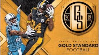 07/19/18 - eBay - 9:30 PM CDT - Panini Gold Standard Football 1/2 Case Break #2