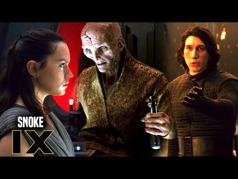 Star Wars! Hint Snoke Is A In Episode 9 & More Star Wars Analysis