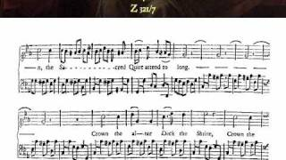 Purcell: Z 321/7. Crown the altar (Celebrate this festival) - Kirkby (Rooley)