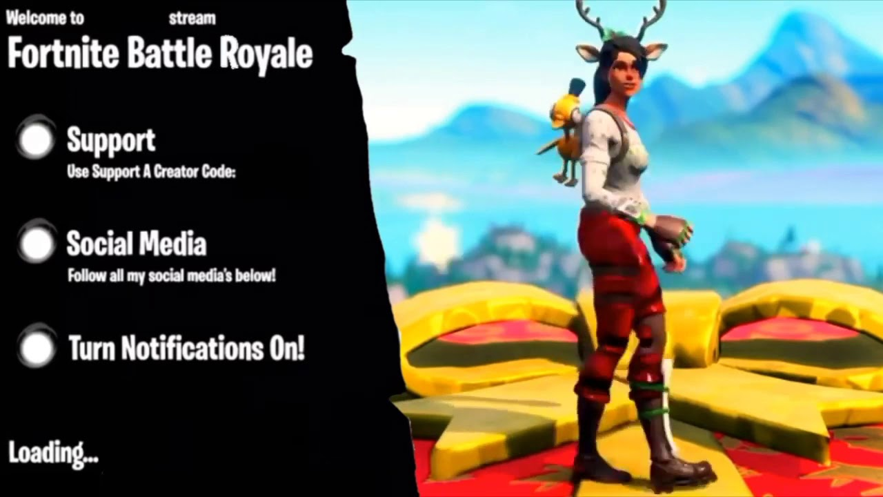 Free Fortnite Loading Screen Intro Template (No Text) download link in desc