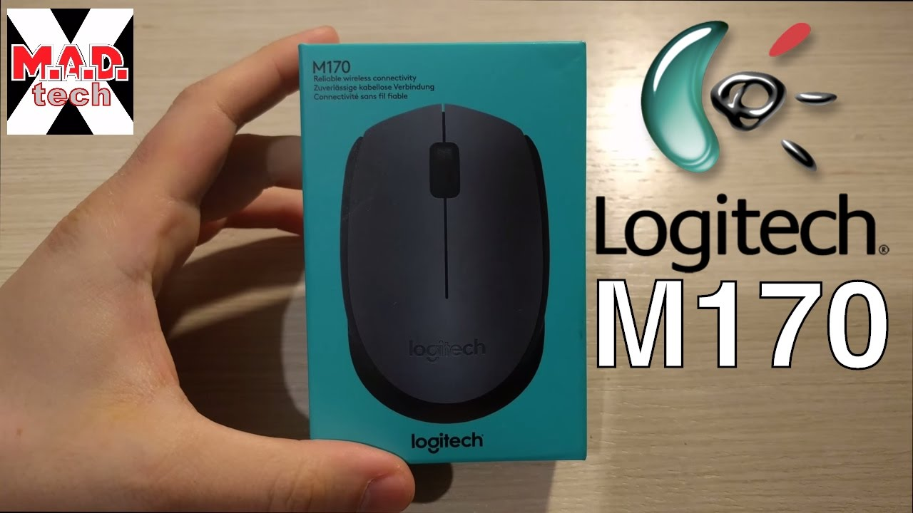 090d4ddde9e Logitech M170 Wireless USB mouse - YouTube