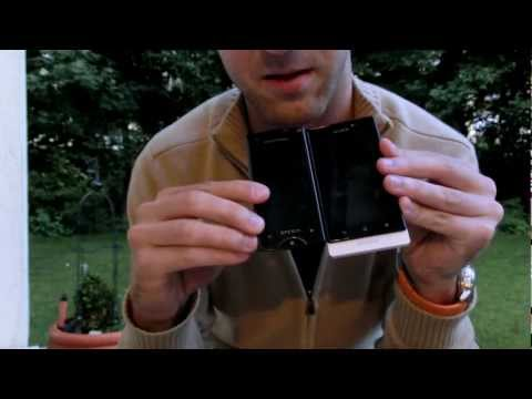 Sony Xperia Sola Unboxing and Comparison
