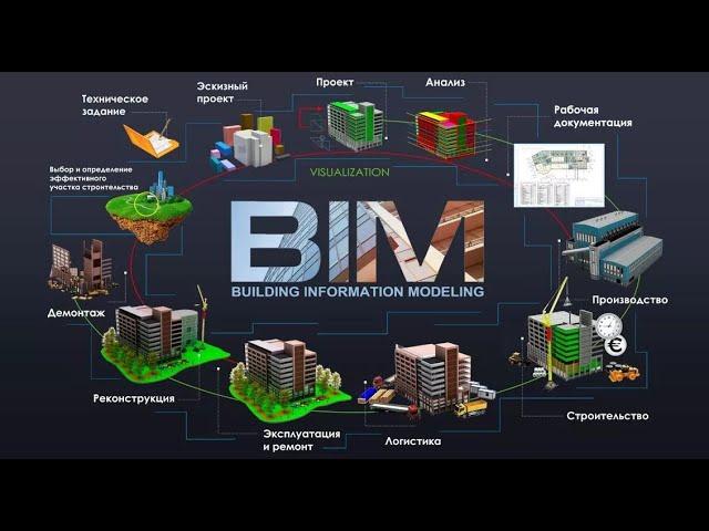 Внедрение BIM технологий в компании.