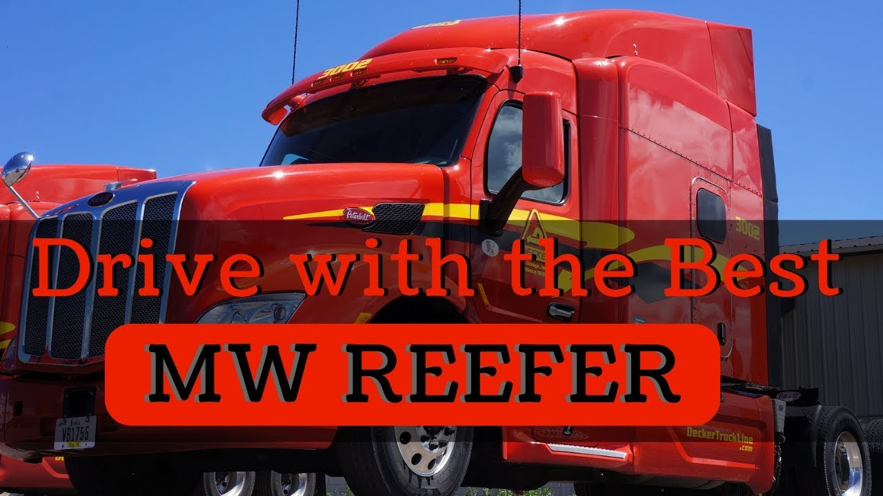 Refrigerated Trucking Company 2018 Midwest Reefer Opportunities for Decker  Truck Line