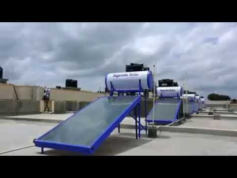 Flat Plate Collector Solar Water Heater Systems - Supreme Solar