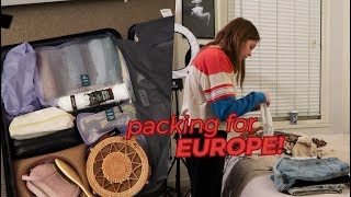 How I Packed for Three Weeks in Europe! // Jill Cimorelli