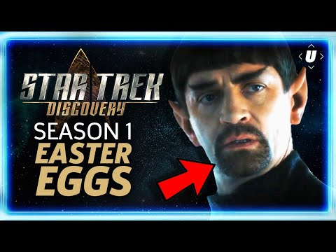 Star Trek Discovery: The Best Easter Eggs In Season 1!