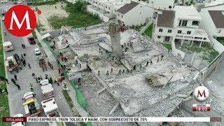 Identifican a dos víctimas de derrumbe en Monterrey