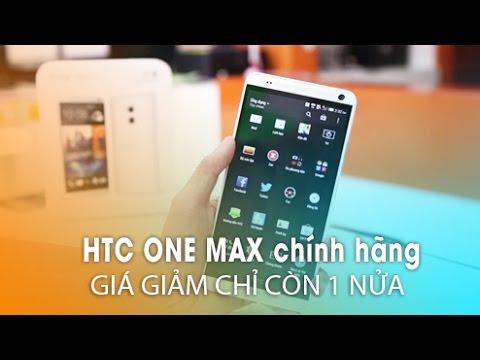 HTC ONE MAX chính hãng trở lại: Giá giảm 1 nửa, nâng cấp lên Android 4.4, giao diện Sense 6