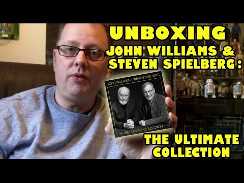 Unboxing John Williams & Steven Spielberg: The Ultimate Collection CD Album