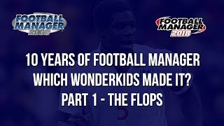 Football Manager 2008 Wonderkids | 10 years on where are they on Football Manager 2018 | Part 1