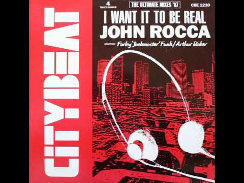 John Rocca  I Want It To Be Real remastered