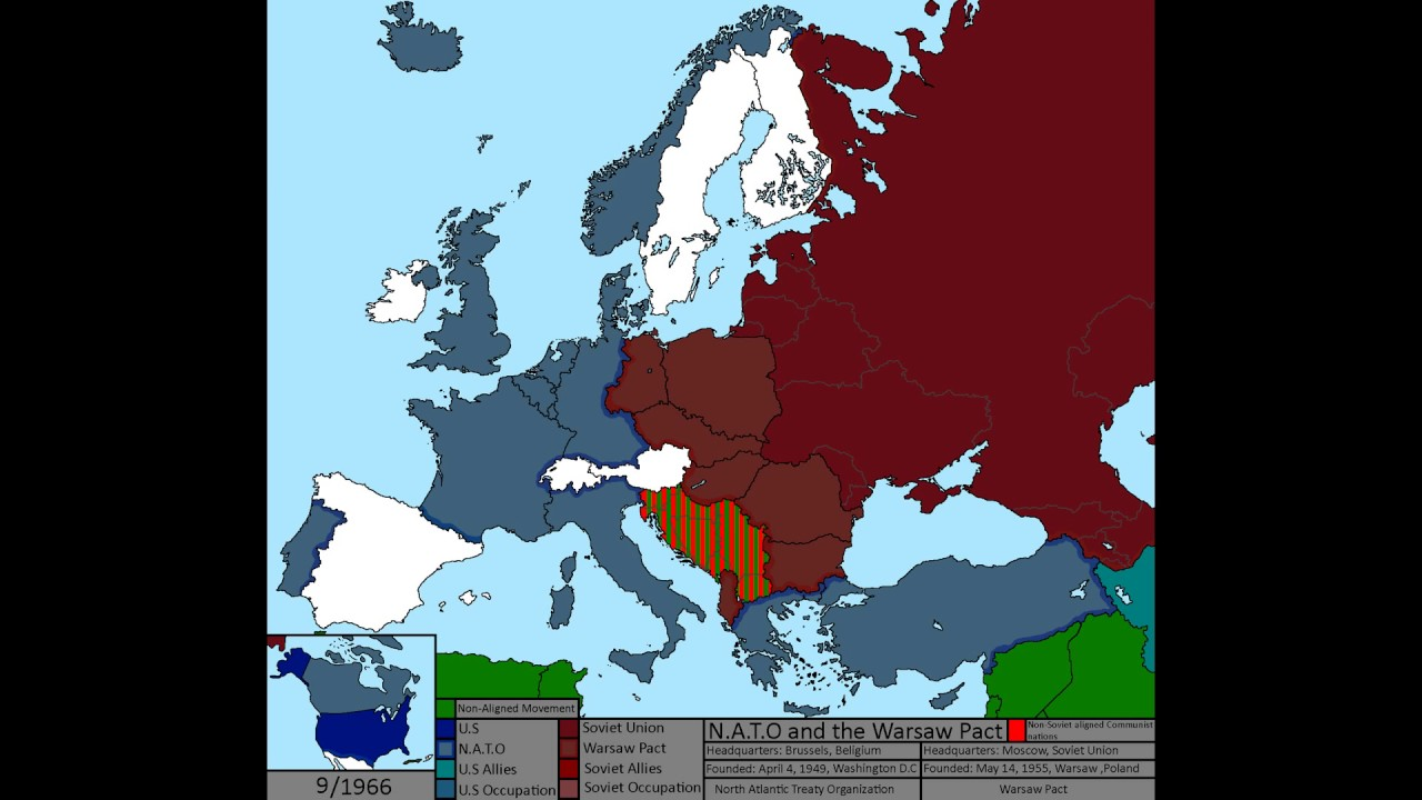 The Cold War Nato And The Warsaw Pact Russia