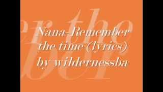 Remember the time - Nana lyrics