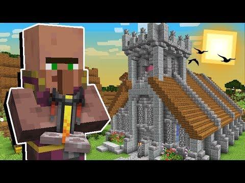 Minecraft Origens #58: A IGREJA PARA OS VILLAGERS PADRES CHEGOU NO REINO!