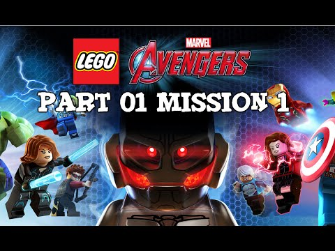 Lego Marvel Avengers - Lets Play Part 1 - Mission 1 - Avengers Assemble !!!