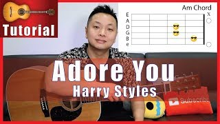 """Adore You"" Guitar Tutorial - Harry Styles 
