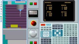 Swansoft CNC Simulation: HAAS